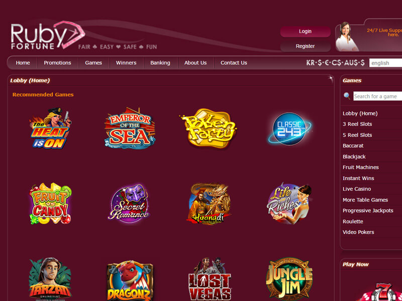 How to Find a Totally free Ruby Fortune On line casino Slot Internet site