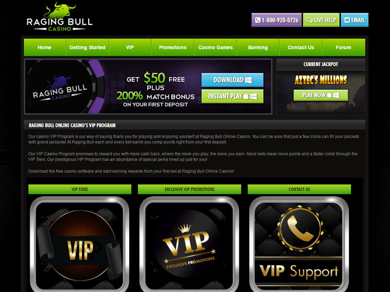 Raging Bull Casino Reviews
