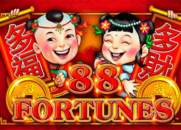 88 Fortunes Pokie Machine