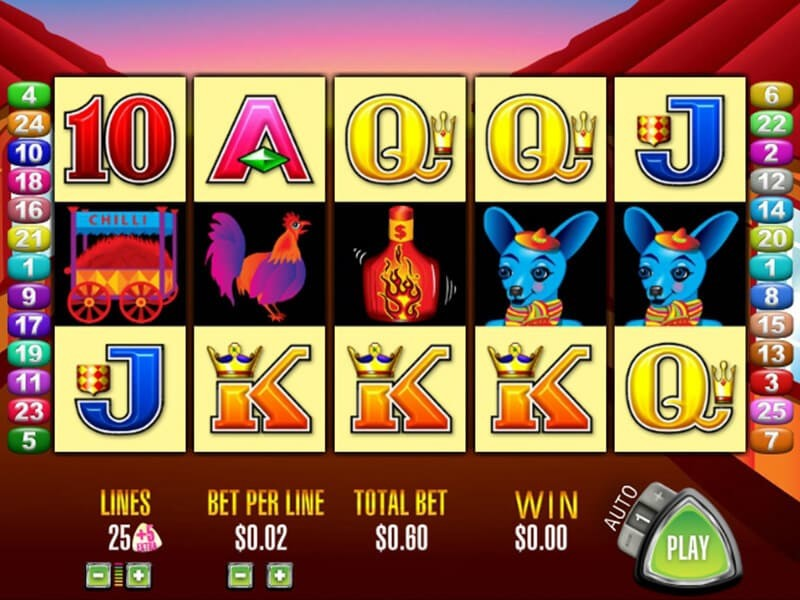 More Chilli Pokie Machine by Aristocrat