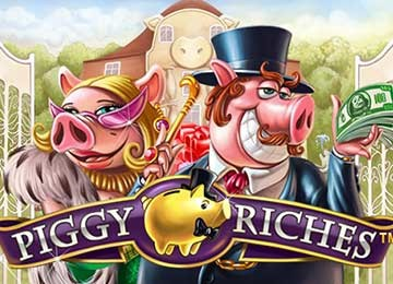 Piggy Riches Pokie Machine
