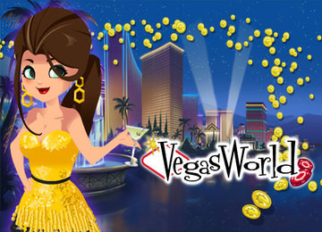 Play Vegas World right now – an amazing collection of social casino slot games